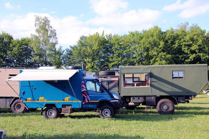 Wohnwagen aus England